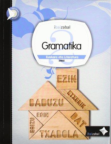 I.bai.berri Proiektua, gramatika, 2 DBH. Materiala por Cecilio . . . [et al. ] Salas Urbina
