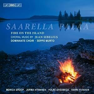Sibelius: Fire On The Island (Saarella Palaa (Choral Music)) (Monica Groop/ Jorma Hynninen/ Folke Gräsbeck/ Harri Viitanen/ Dominante Choir/ Seppo Murto) (BIS: BIS1889)