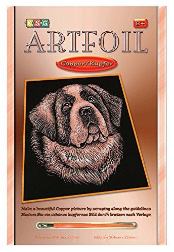 Mammut 8271330 - Artfoil-Bernhardiner, ca. 25,5 x 20,4 cm, copper Preisvergleich