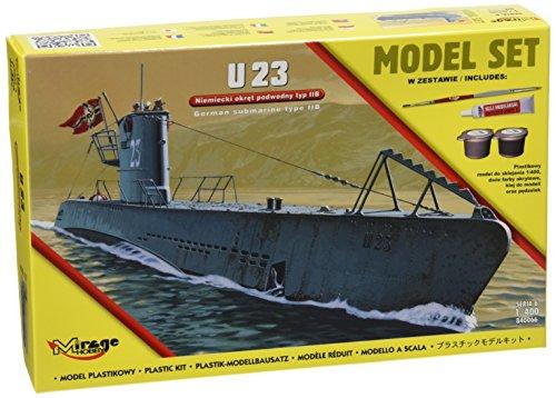 Mirage Hobby 840066-Modellino U23German Submarine WWII typeii B