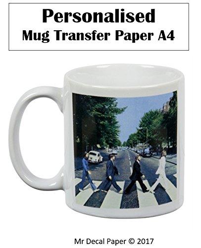 Personalizado taza–agua de vinilo–papel de inyección de tinta de papel de transferencia de fotos | láser | 2A4