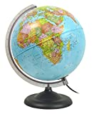 The World Scholar Globe Illuminated 25cm