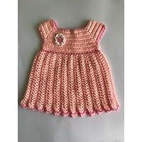 Vestido para bebé de crochet hecho ...