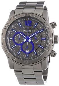 Reloj Guess BRICKHOUSE W22521G1 de cuarzo para hombre, correa de acero inoxidable color gris de Guess