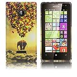 Microsoft Lumia 532 Silikon-Hülle Fliegender Elefant