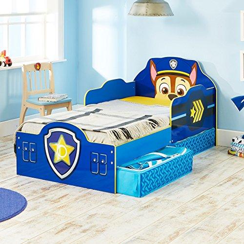 paw patrol kleinkinderbett mit stauraum smash. Black Bedroom Furniture Sets. Home Design Ideas