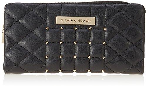 Silvian Heach Wallet Depaola Portafoglio, Donna, Nero