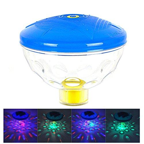 LED Sous-marin Flottant Lumière Imperméable Poud La natation Bassin Baignoire Décoration Lumière Multicolore En changeant Eau Lumière Lampe