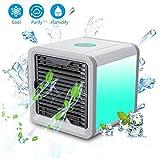 ZNKT Condizionatore Portatile Raffreddatore D'aria Evaporativo Mini 3 In 1 Dispositivo Di Raffreddamento USB Refrigeratore D' Aria Personale