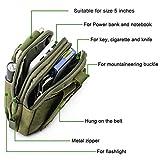 Overmont Multifunktional Taktisch Hüfttasche Gürteltasche Outdoor Sport Tasche Beutel für Camping Wandern Radfahren Klettern und Reisen - 5