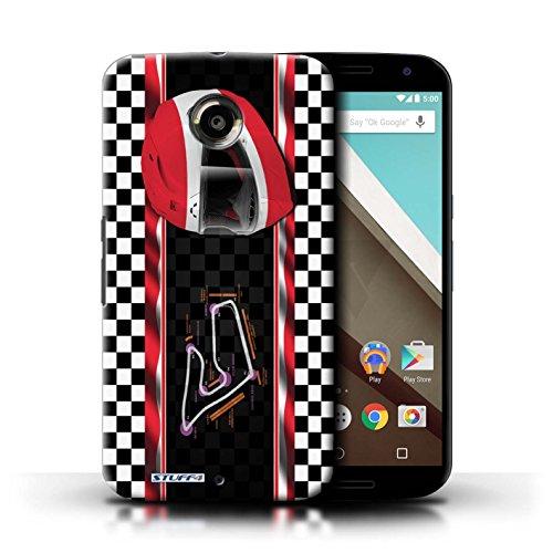 Kobalt® Imprimé Etui / Coque pour Motorola Nexus 6 / Italie/Monza conception / Série F1 Piste Drapeau Autriche/Spielberg