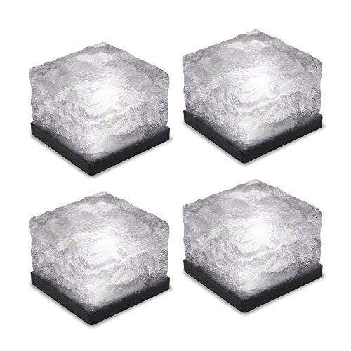 Tomshine 4 Piezas Creativo LED Lámpara de Noche para Jardín, IP65 Im