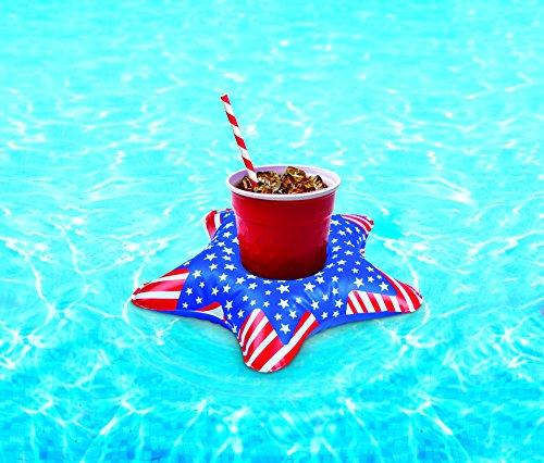 sbare patriotische Sterne Getränke Boote 3pk (Patriotische Getränke)