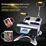 Best machine de presse de chaleur - 5 en 1 Presse à Chaleur Multifunction Machine Review