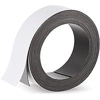 Cinta magnética autoadhesiva, 500 x 3,5 cm, rollo flexible magnético, para proyectos de bricolaje, borrado en seco, almacenamiento, bricolaje