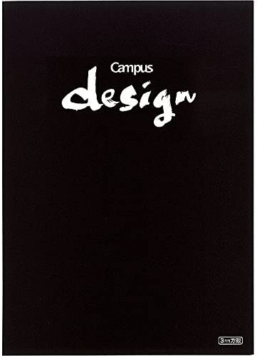 Kokuyo Notebook Campus Design Note Note Note 3mm Graphic A4 nero Yosa -10D Japan | Outlet