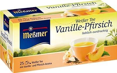 Messmer Thé Blanc Vanille-Pêche 4er Pack