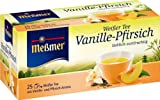 Meßmer Weißer Tee Vanille-Pfirsich 25 TB, 4er Pack (4 x 35 g Packung)