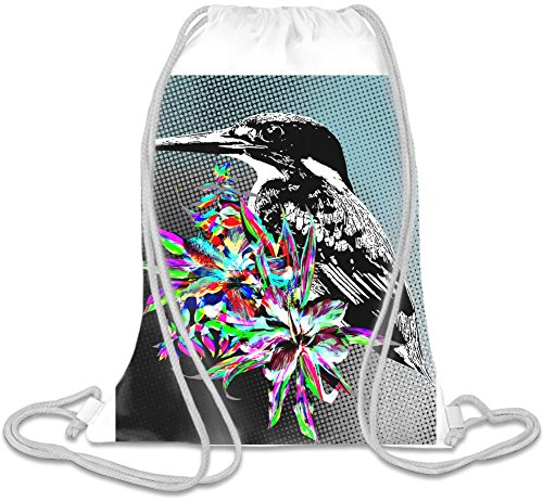 kingfisher-illustration-bolso-con-cordones
