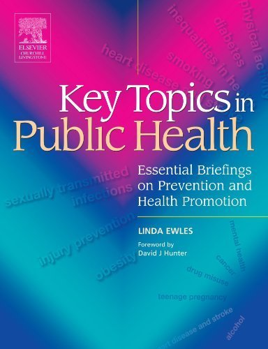 Key Topics in Public Health: Essential Briefings on Prevention and Health Promotion by Linda Ewles (2005-05-23)