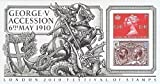 2010 Accession of King George V Miniatur Blatt Nu. 70 - Royal Mail Briefmarken