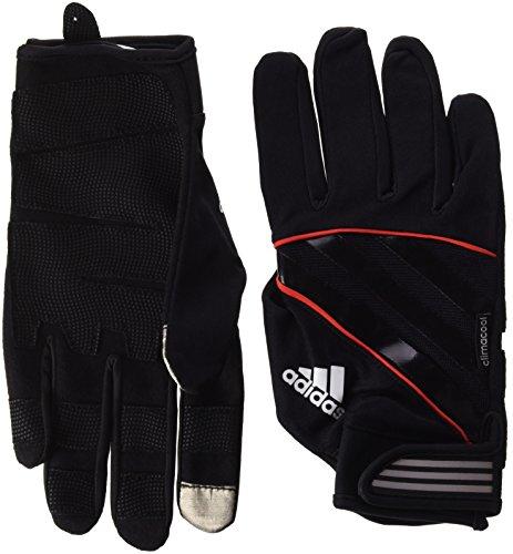 adidas Full Finger Performance Guantes, Rojo, M