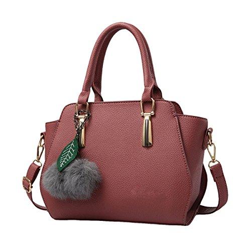 Damen Handtasche Schulter Schräge Kreuz Paket Freizeit Handtaschen Einfache Wilde Mode Purple