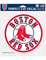 MLB Boston Red Sox 23142014 Perfect Cut Color Decal, 8 x 8, Black by WinCraft