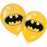 Generique - 6 gelbe Latexballons Batman