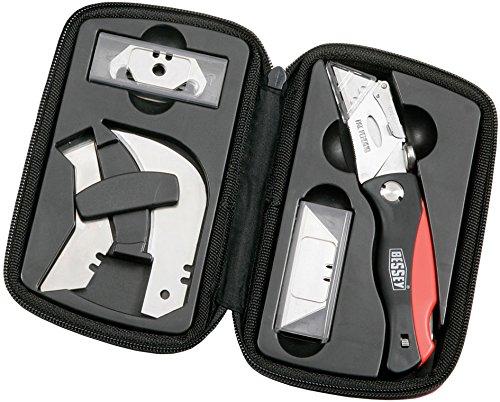 Bessey DBKPH-SET Cutter-Messer im Etui mit Ersatzklingen