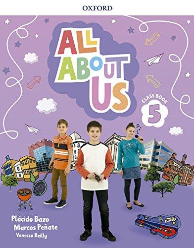 All About Us 5. Class Book por Plácido Bazo