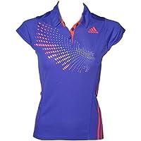 Adidas Polo (BT Graph, Todo el año, Unisex, Color NGTFLA/Solred, tamaño Medium