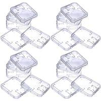 eBoot 20 pezzi plastica case di memoria sd, caso sd card, titolare della carta di sd, per SDHC SD e schede di memoria microSD
