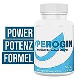 PEROGIN Power-Potenzmittel für Männer, Erektion und Testosteron Booster, rezeptfrei, 90...