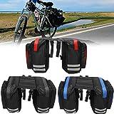 ~ 600D 20L Radfahren Fahrradgepäcktasche Fahrrad-Gepäckträger Sitzsatteltasche Radfahren Pannier Waterpro
