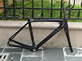906 # Toray Carbon, Full Carbon UD matt Road Bike BSA Rahmen 51 cm Gabel Headset
