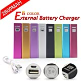 UKOUTLET® External Battery Backup Charger Power Bank Charger for iPhone 5 4S 4 3GS, iPod, Samsung Galaxy Note, Galexy S4, Galaxy S3, Galaxy S2, Galaxy Nexus, HTC One X, One S, Sensation G14, ThunderBolt, Nokia N9 Lumia 920 900, Blackberry Z10, Sony Xperia Z; Google Glass, GoPro and More - Blue