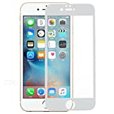 MOBITECH Full Body Tempered Glass Screen Protector Guard for Apple iPhone 6S / 6 (White)
