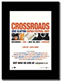 Eric Clapton - Crossroads Magazine Promo on a Black Mount