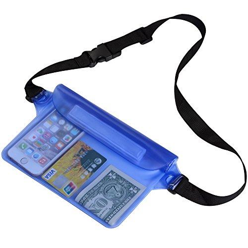 Zacro® Wasserdichte Tasche,Wasserdichte Beutel,Wasserdichte Handyhülle,Strand-Tasche mit Verstellbarem Gurt