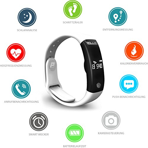 POLLIX Fitness Tracker - 3
