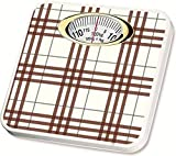 #3: MCP Deluxe Personal Weighing Scale Analog Mechanical 120kg (Brown Check)