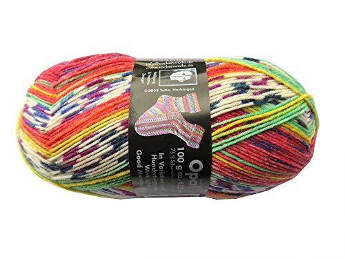 Opal Sockenwolle nach Hundertwasser Good Morning City