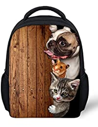 Cute Pet Print Little Kids Backpack Small Schoolbag For 2-5 Years Old Kbp-C0041F By Collect Beauty