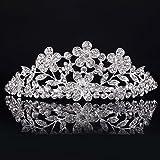 Wedding Bridal Shining Crystal Rhinestones Crown Tiara Headband Hair Band Hair Barrettes / Hairband / Hair Clip / Hair Loop
