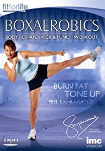 Boxaerobics Body Reshape Workout - Fat Buring & Toning Boxercise Workout - Fit for Life Series [DVD] [2006]