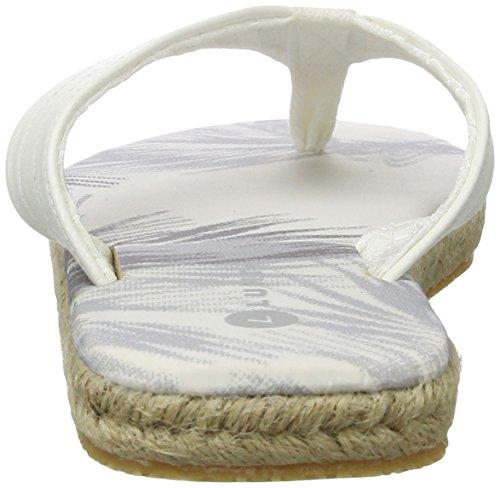 LUHTA Damen Jolie Hausschuhe Weiß (optic white)