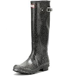 Damen Swamp Grün Tall Quilted Leg Gummistiefel-UK 5 Hunter PhGbYIn