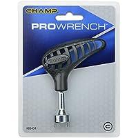 Longridge Spikes für Schuhe Champ Golf Pro Spikeschlüssel Llave, Unisex, Negro