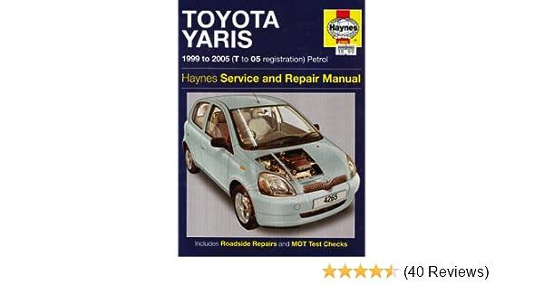toyota yaris petrol service and repair manual 1999 to 2005 r m rh amazon co uk toyota yaris 1.4 d4d workshop manual toyota yaris 1.4 d4d workshop manual